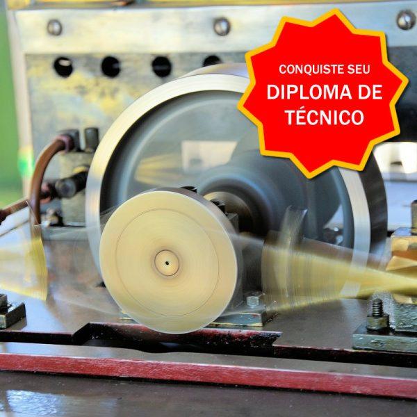Diploma Técnico Mecânica - Curso Online Certificação Competências Profissionais