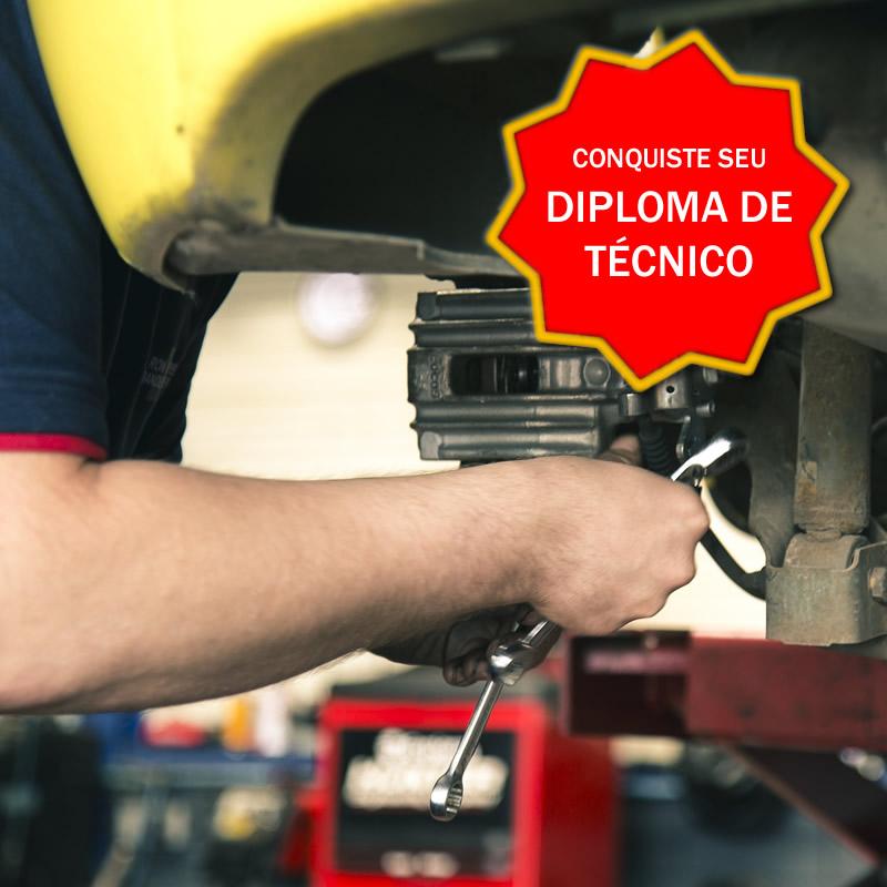 Técnico Manutenção Automotiva - Curso Certificação Competências Profissionais