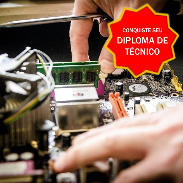 Diploma Técnico Informática Rápido - Curso Certificação Competências Profissionais