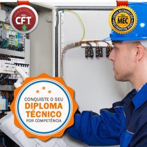 Diploma Técnico Eletrotécnica Rápido - Curso Certificação Competências Profissionais