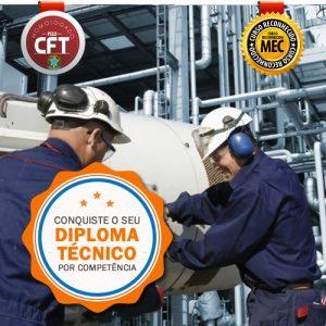 Diploma Técnico Mecânica Industrial Rápido - Curso Certificação Competências Profissionais